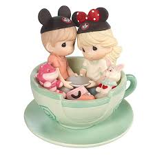 <b>Disney Boy and Girl</b> ''It's a Tea-riffic Day to Be with You'' Figurine ...
