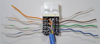 rj45 connector wiring ethernet annavernon how to install an ethernet jack for a home network