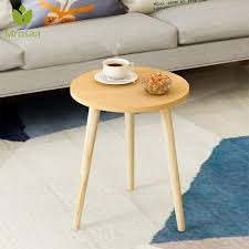 round wood coffee table single double