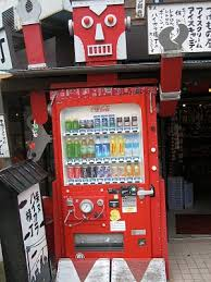 Robot Vending Machine Simple Robotshaped Soda Vending Machine Japan Japan Pinterest Soda