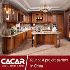 hot s free design and classical solid wood kitchen cabinets