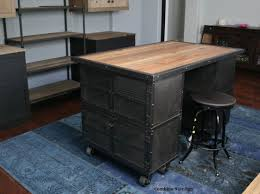 Buy A Handmade Kitchen Island Work Station Vintage Industrial