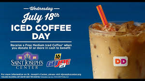 Donut miss out on free donut wednesdays at dunkin'. Iced Coffee Day At Dunkin Donuts To Support Go Joe 21 Wnep Com
