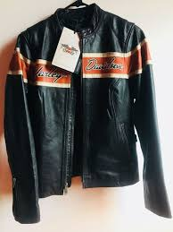 original victory lane leather jacket harley davidson