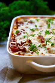 easy make ahead baked ziti with sausage