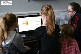 children watching how to memorize the periodic table