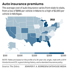 But there are figures available to at least the three most expensive states for auto insurance are louisiana, michigan and florida, with average car insurance prices ranging from $1. The Auto Insurance Game Data Show Moving From One Neighborhood To The Next Could Cost Thousands In Rate Hikes News Southcoasttoday Com New Bedford Ma