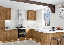 shaker kitchen doors shaker pippy oak