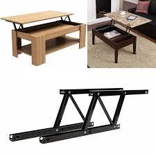 1pair lift up top coffee table hinges diy hardware ing furniture mechanism hinge spring for home