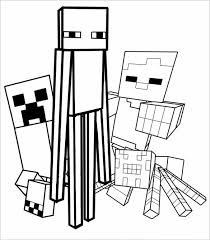 How to make minecraft pixel art memes (watch my new video for mobile and updated version) tutorial. 16 Minecraft Coloring Pages Pdf Psd Png Free Premium Templates