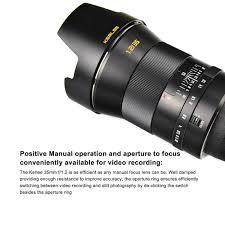 al kerlee 35mm f 1 2 full frame dslr lens review with sles by photorumors