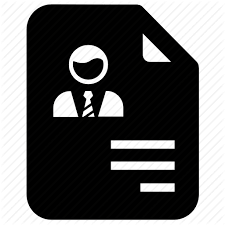 A resume is ideally suited when applying for middle and senior the sections of a cv may include the following, although many sections can be moved up or down depending on what information is relevant for the. Bio Data Cv Job Application Profile Resume Icon Download On Iconfinder