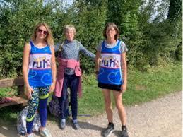 Family's Walk of Life Marathon for RUH | Melksham Independent News