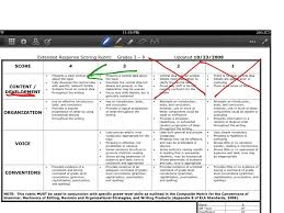 rdw rubric writing rubric content and development