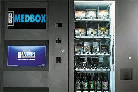 Los Angeles Vending Machines Adorable Medbox Dawn Of The Marijuana Vending Machine Bloomberg
