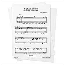 Unlimited access to over 1.1. Star Wars The Mandalorian Main Theme Sheet Music From Star Wars The Mandalorian Easy Piano From Musicnotes Star Wars The Mandalorian Ludwig Goransson Amazon Com Books