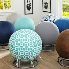 living room desk chair. rockin\u0027 roller desk chairs: this could be easily diy-ed using inflatable bouncy living room chair