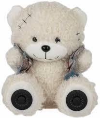 Купить <b>Портативная колонка RITMIX</b> Bear <b>ST</b>-<b>250</b>, 6Вт, белый в ...