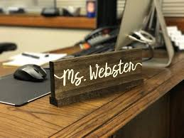 military wooden desk name plates ayresmarcus best home