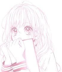 """Résultat de recherche d'images pour """"fille manga kawaii noir et blanche"""""""