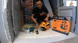 Điện Máy Công Nghiệp ACOS - Máy Rửa Xe Gia Đình Mini Boss 2500w Chỉnh Áp