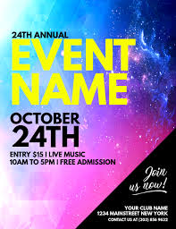 Create A Event Flyer Free Create Free Custom Posters In Minutes Postermywall