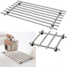 Ikea Lamplig Stainless Steel Kitchen Worktop Trivet Pot Stand Rack