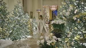 Trump Leaving Christmas Tree Lighting A Look At The White House Christmas Decorations