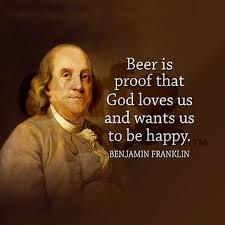 Ben Franklin Quote On Beer Cork Coaster On CafePress My Style Custom Ben Franklin Beer Quote