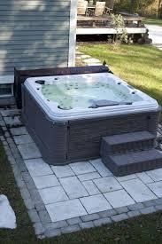 Outdoor Jacuzzi Best 25 Backyard Hot Tubs Ideas Only On Pinterest Diy Hottub