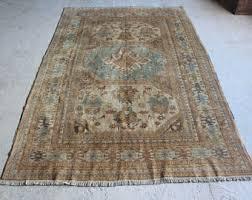 rug 6x9. 6\u00274\u0027\u0027x9\u00272\u0027\u0027 vintage oushak rug, 1950s area rug 6x9 r