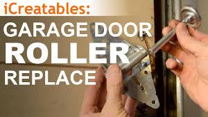 how to replace garage door rollersHow To Replace Garage Door Rollers  YouTube