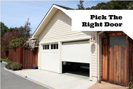 automatic or manual garage doors