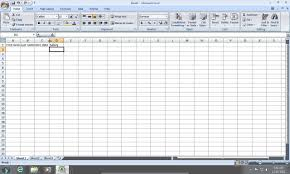 How To Create An Excel 2007 Database Youtube