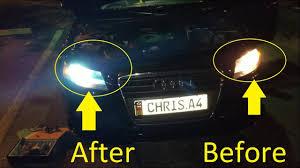 Audi A5 Fog Light Bulb Size Easy Install B8 Audi A4 A5 Hid 8k Light Upgrades On 2010 2011 2012
