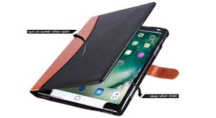you d like pu leather case for your ipad pro 2017 get here best ipad pro 10 5 leather cases comes with pencil holder complete fit for home and office use