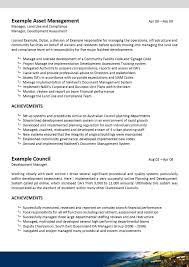 Resume Urban Planner Resume Online Builder