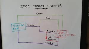 toyota 5vzfe (4runner) cam sensor malfunction fic 6 aem Aem Fic Wiring Diagram here is wiring diagram provided by a member of another forum it details what he did to fix the problem, but it is a bit hard to follow and i am not sure i aem fic wiring diagram