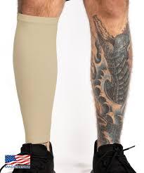 Tattoo Cover Up Calf Sleeve Light Skin Tone