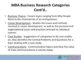 mba business research paper topics  4 mba business research
