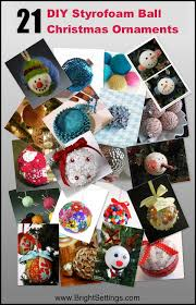 How To Decorate Styrofoam Balls 100 DIY Styrofoam Ball Christmas Ornaments The Bright Ideas Blog 58