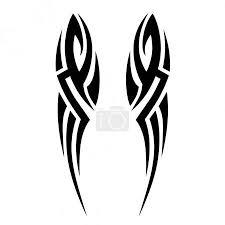 Vektorová Grafika Tetování Tribal Vektoru Vzory Tribal Tetování