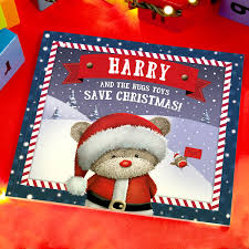 Personalised Gift Book - Hugs Christmas, Christmas Gifts For Kids |  GettingPersonal.co.uk