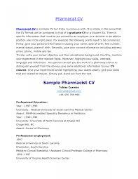 Pharmacist Cover Letter Resume Hospitalcy Technician Job Description