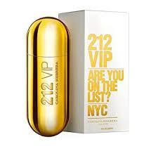 Carolina Herrera 212 VIP Eau de Parfum Spray, 1.7 ... - Amazon.com