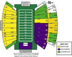 Pirates Stadium Seating Chart East Carolina Pirates 2008 Football Schedule