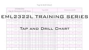 1 2 npt tap drill size tap and drill chart video youtube