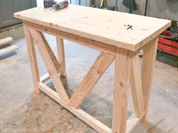 This is an awesome beginner project. A DIY kitchen breakfast bar would be  great for