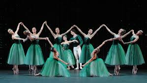 Балет Джорджа Баланчина Драгоценности jewels ru Сцена из балета Изумруды Фото ИТАР ТАСС