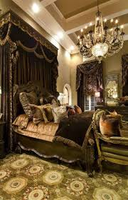 luxurious victorian bedroom white furniture. Bedroom , Classic Victorian Ideas : With Chandelier And Black Canopy Luxurious White Furniture
